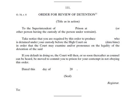 File:Order for Review of Detention (Form 111), Rules of ...
