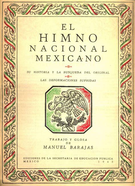 File:Portada de la Himno nacional Mexicano - SEP 1942.jpg ...