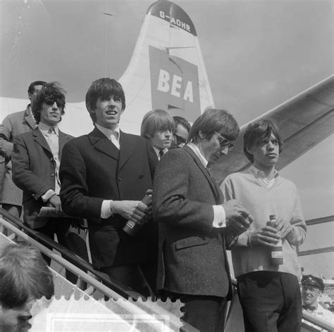 File:Rolling Stones at Amsterdam Airport Schiphol (1964 ...
