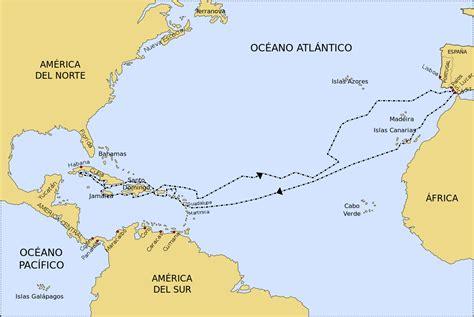 File:Segundo viaje de Colón.svg - Wikipedia