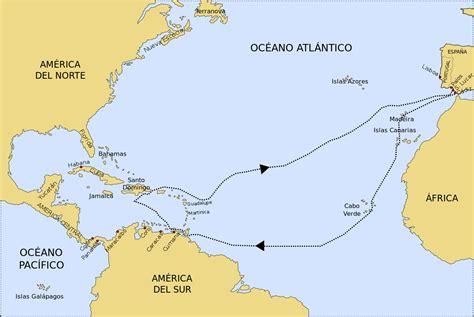 File:Tercer viaje de Colón.svg - Wikipedia