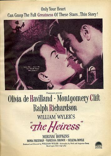 File:The Heiress  1949  poster.jpg   Wikimedia Commons