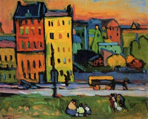 File:Vassily Kandinsky, 1908 - Houses in Munich.jpg ...