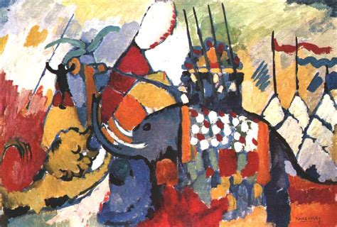 File:Vassily Kandinsky, 1908 - The elephant.jpg ...