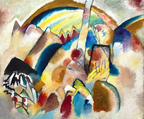 File:Vassily Kandinsky, 1913 - Landscape With Red Spots ...
