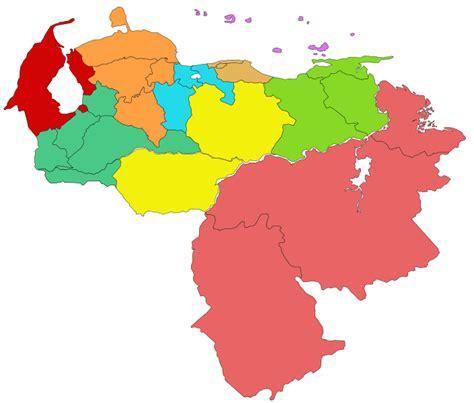File:Venezuela Regiones Administrativas.svg   Wikimedia ...