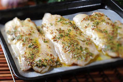 Filete de pescado al horno a la mostaza   YouTube