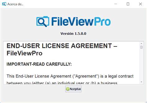 FileViewPro 1.5 + Patch | Abrir cualquier extensión de ...