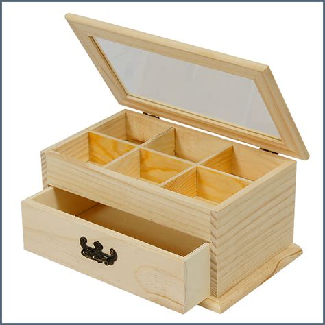 Filing cabinet: How to make a wooden jewelry box