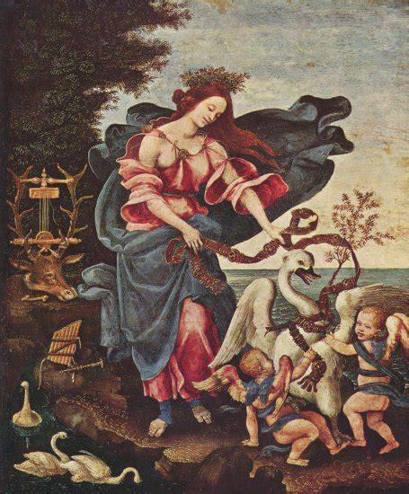 Filippino Lippi - Alegoría de la música | Artelista.com
