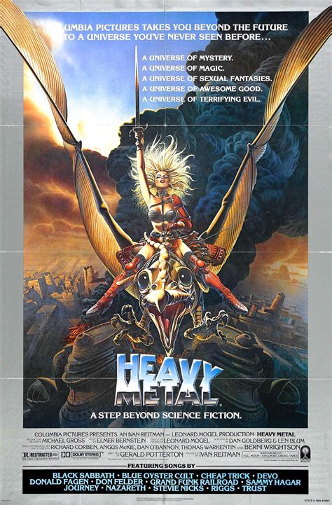 Film Review: HEAVY METAL - Hollywood Metal