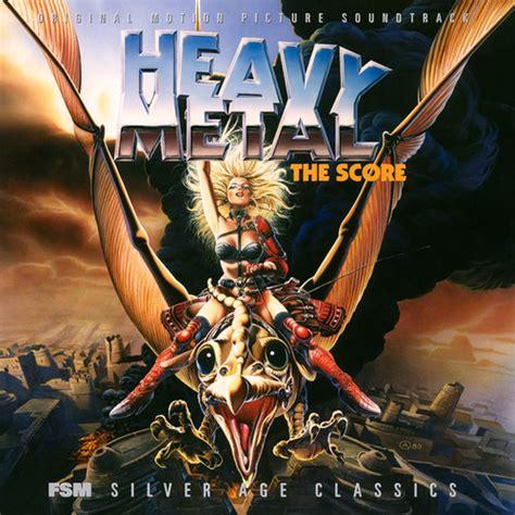 Film Score Monthly CD: Heavy Metal: The Score