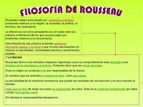 Filosofia de Roseau