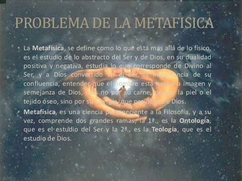 Filosofia metafisica