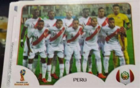 Filtran fotos de figuritas de Perú y Paolo Guerrero de ...