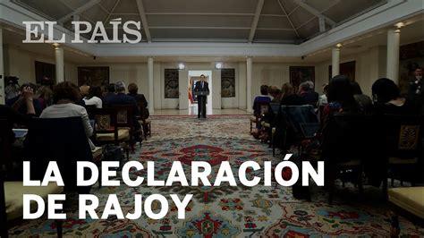 FIN DE ETA: La declaración de RAJOY   YouTube