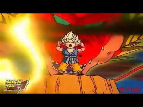 final de Dragon ball gt japones latino - YouTube