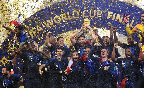 Finale de la Coupe du monde de football de 2018 — Wikipédia
