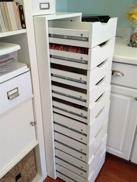 Finally - a unit with enough drawers. This is from Ikea ...