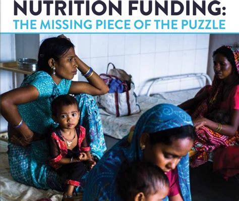 Financiación en nutrición: La pieza que falta del ...