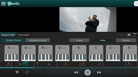 Find Chords of Any Song for Piano, Ukulele, Guitar Online Free
