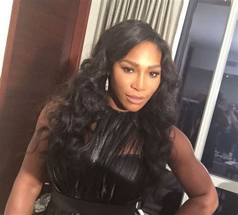 Find out what Serena Williams thinks of her physique ...