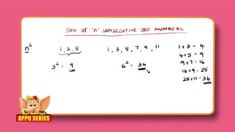 Find the sum of 'n' Consecutive even numbers - Math Trick ...