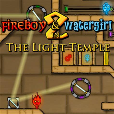 FireBoy and WaterGirl 2: The Light Temple - Walkthrough ...