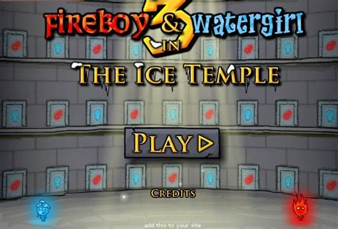 Fireboy y Watergirl in the Ice Temple - Juegos On-line ...