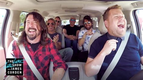 First Look: Foo Fighters Carpool Karaoke   YouTube
