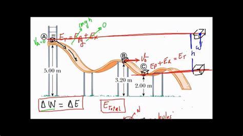 Física mecánica   Ejemplo de trabajo y energía mecánica ...