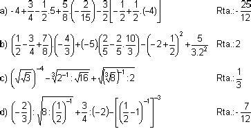 FisicaNet - Gunía de ejercicios de operaciones con números ...