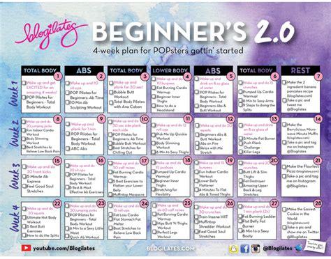 Fitness Friday – Blogilates Beginners Calendar Review ...