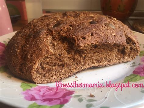 Fitness Thermomix: Pan de centeno integral
