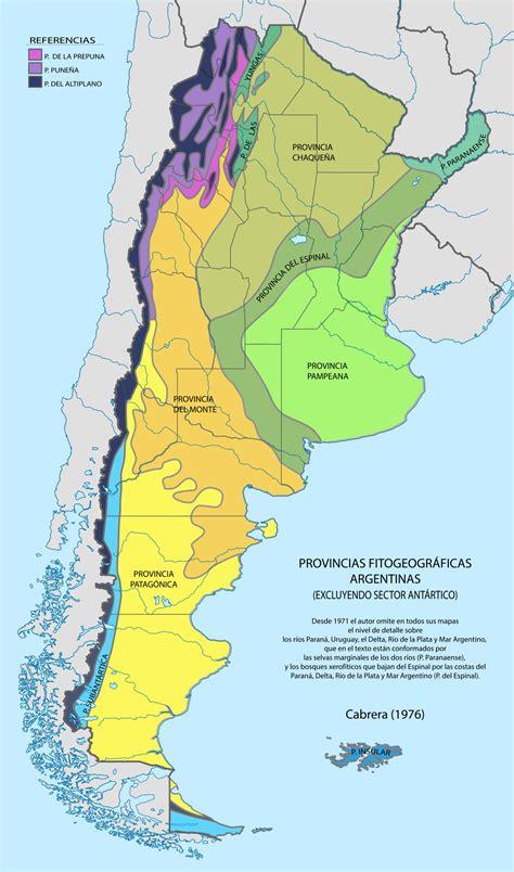 Fitogeografía de Argentina - Wikipedia, la enciclopedia libre