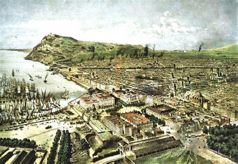 Fitxer:Barcelona en 1850.jpg   Viquipèdia, l enciclopèdia ...