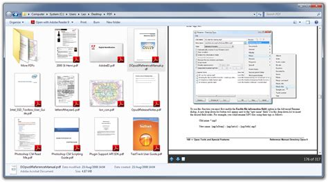 Fixes for 64-bit Adobe Reader preview handler and thumbnails