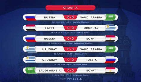 Fixture Mundial de Fútbol Rusia 2018 editable para ...