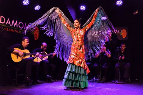 Flamenco Madrid - Cardamomo Tablao - Actuación de la ...
