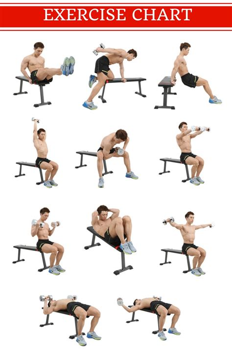 Flat Dumbbell Bench Workout Bench | Lazada