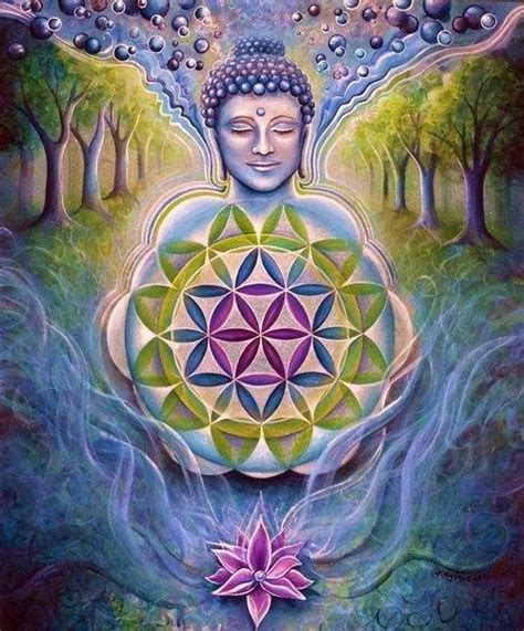 flor de la vida | Geometría sagrada y mandalas | Pinterest