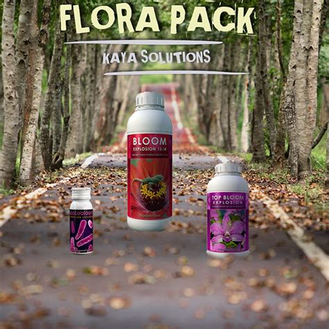 Flora Pack Exterior Kaya Solutions   Kaya Barcelona Grow Shop