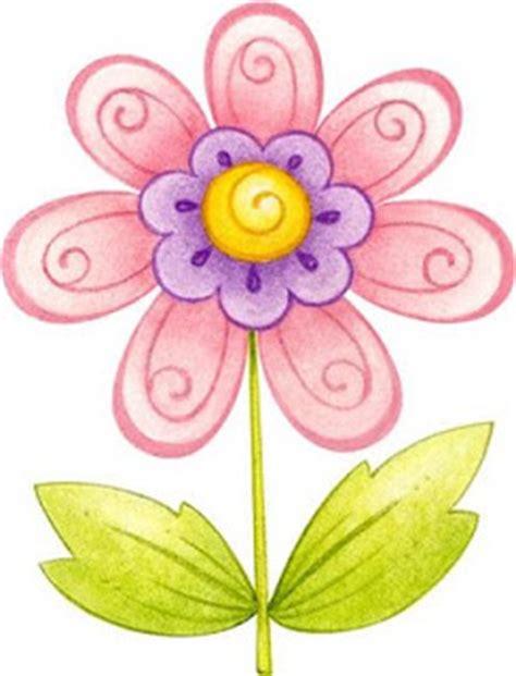 Flores coloreadas para imprimir