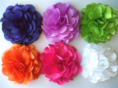 Flores De Tela Para Apliques Estilo Rosa De 8 Cms. - Bs. 3 ...