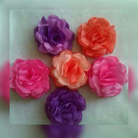 Flores De Tela Tipo Rosas Cintillos, Coronas De Flores 8cm ...