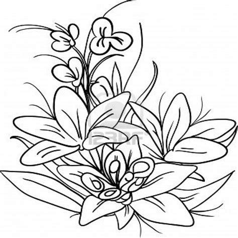 Flores Para Pintar Pintar Imà Genes Pintura En Tela ...