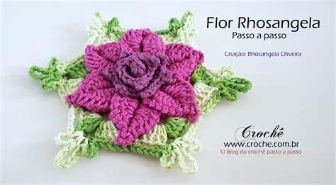 Flores – Passo a passo | Croche.com.br