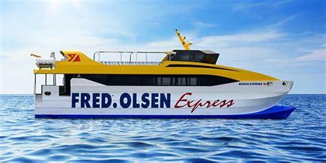 Flota   Fred Olsen Express