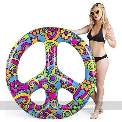 Flotador gigante hippie símbolo de la paz por 29,90 ...