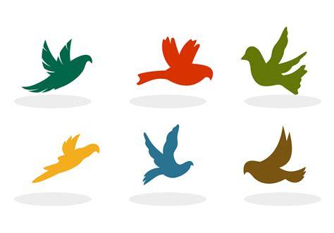 Flying Birds Silhouette Vectors   Download Free Vector Art ...
